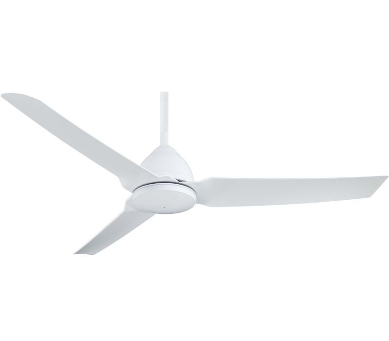 Minka Aire F753 Bnw Java 54 Outdoor Ceiling Fan With Remote