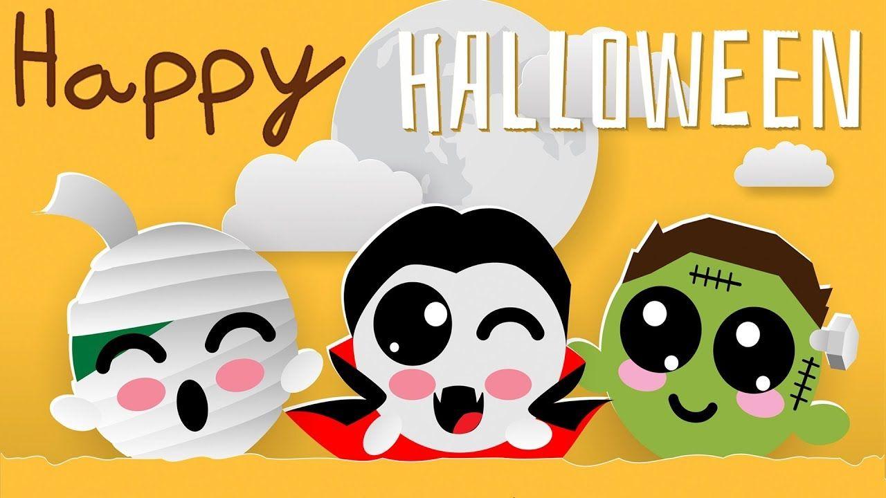 Happy Halloween Music For Kids Spooky And Fun Halloween Background I Halloween Music Happy Halloween Halloween Fun