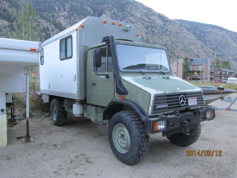 Mercedes Benz Other Expedition Camper 4x4 Unimog Ebay