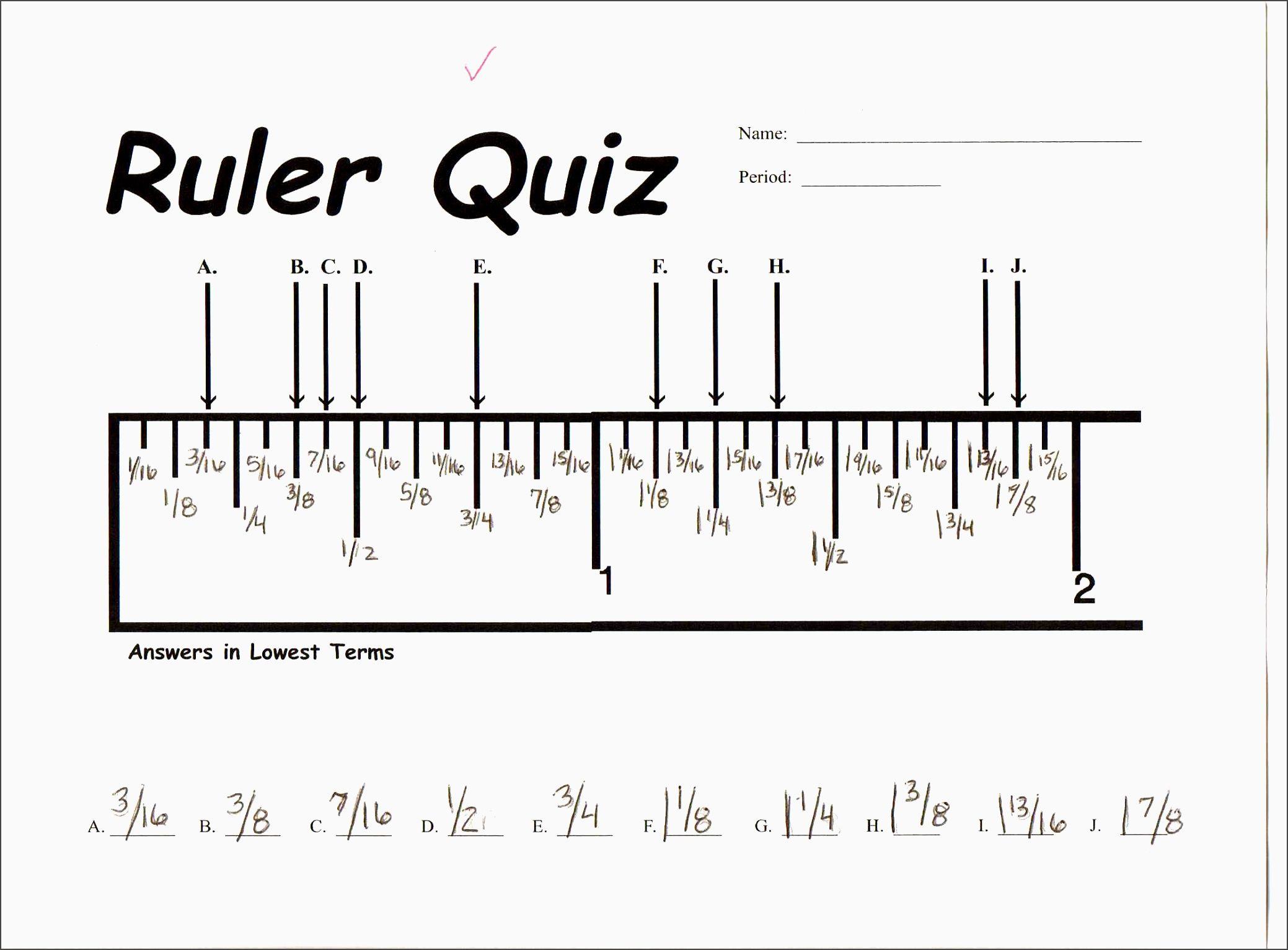 Measuring Ruler Worksheet Sgadi New Best S Of Reading A