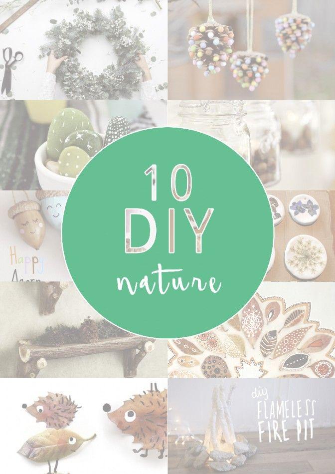 10 DIY NATURE - Aux petites merveilles