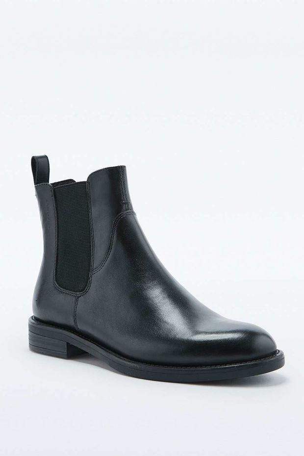 Vagabond Amina Black Chelsea Boots