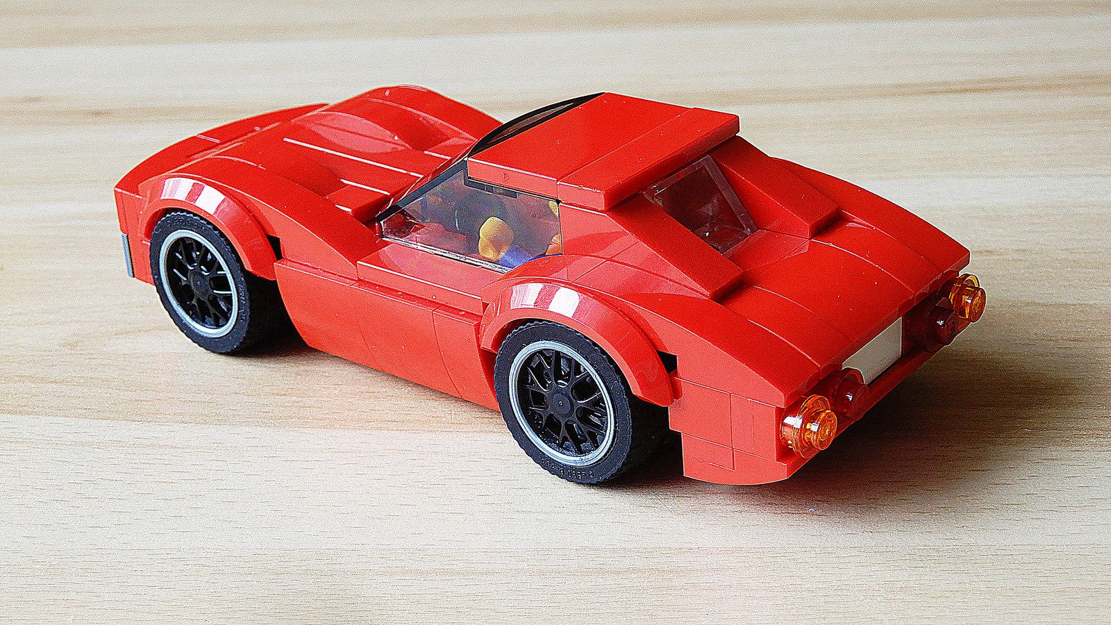 How To Build Chevrolet Corvette Stingray C3 Moc 4k Lego Cars