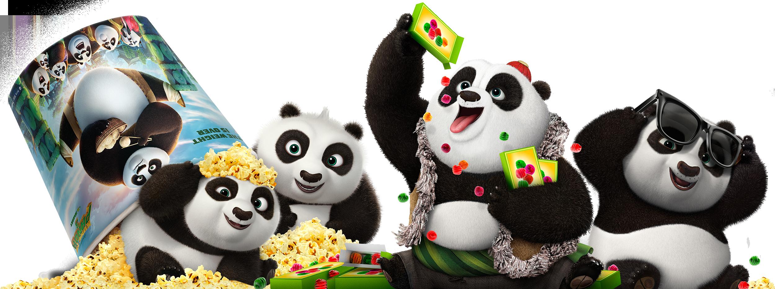 Kung Fu Panda 3   Character Clings   TEN30 Studios ...