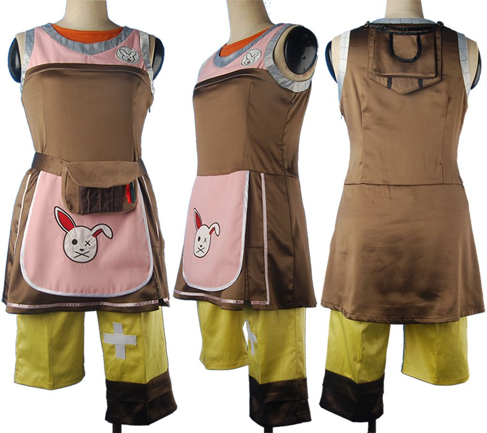 Borderlands 2 cosplay Tiny Tina costume halloween costume carnival costume make-up costume christmas gift for girls women
