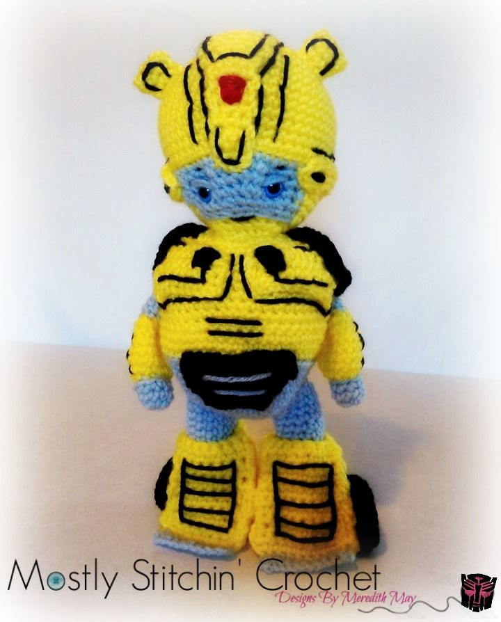 Amigurumi Bumblebee - free crochet pattern & video tutorial ... | 894x720