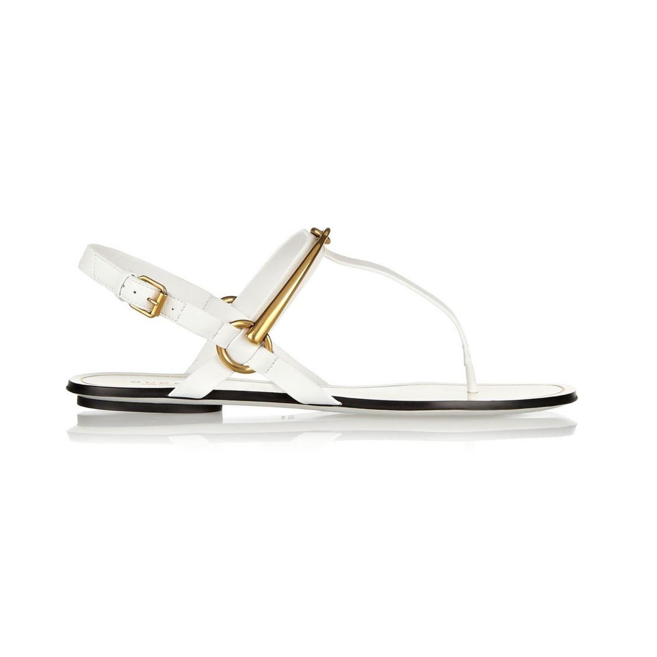 #Shopping: les #sandales #plates de la saison - #chaussures #mode #Gucci