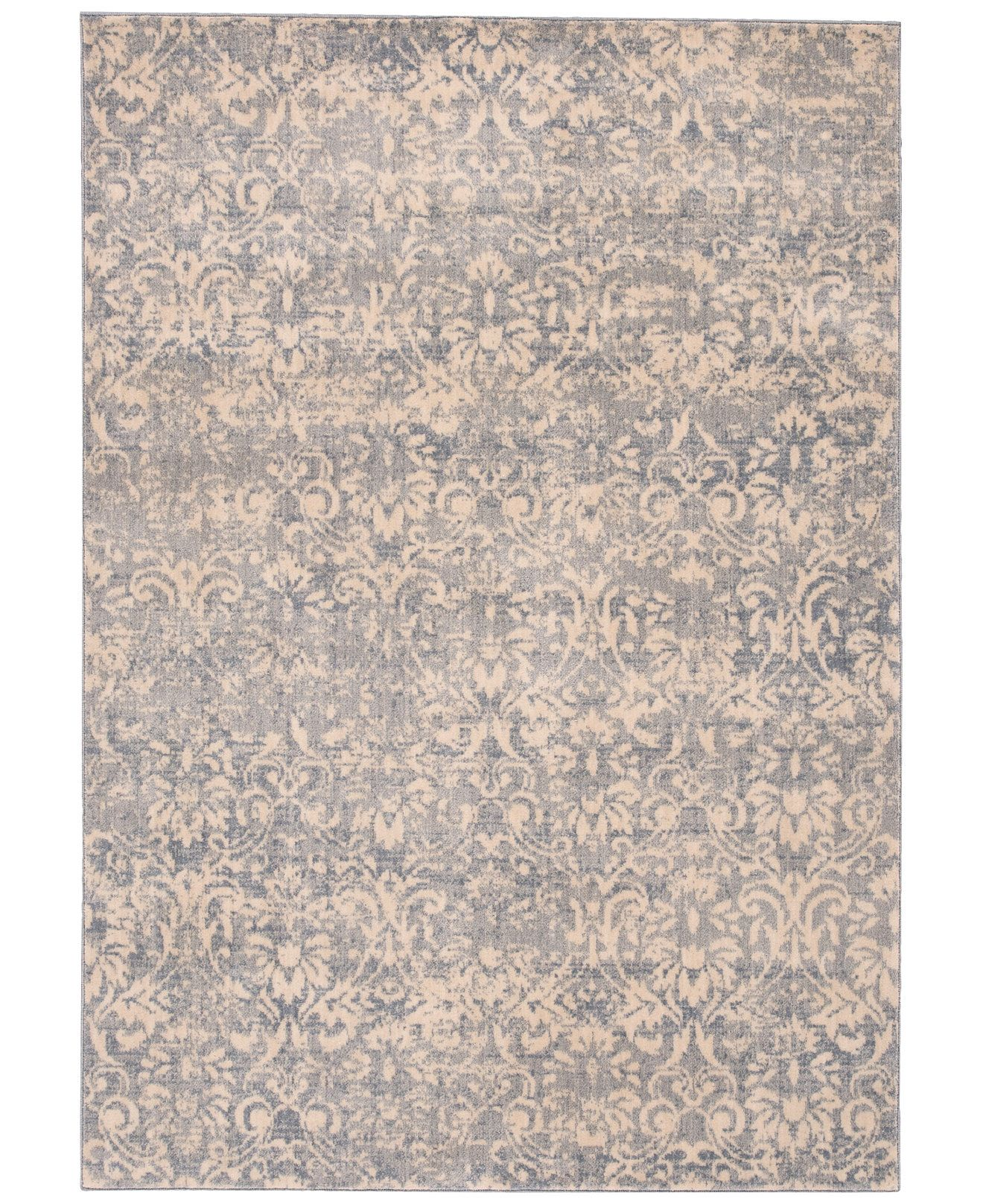 Kelly Ripa Home Origin Krh12 Ivory Blue Area Rugs Kelly Ripa