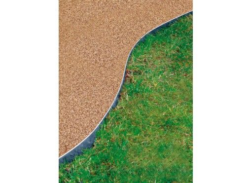 bordure de jardin en acier galvanisé 1,17 m   jardinage   pinterest