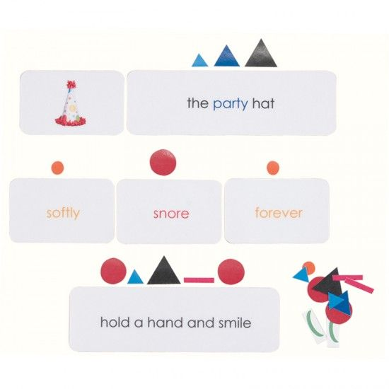 Function of Words Cards   Montessori, Language and Homeschool