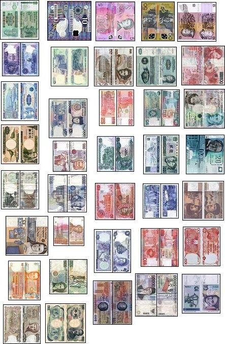printable money 1/12 scale