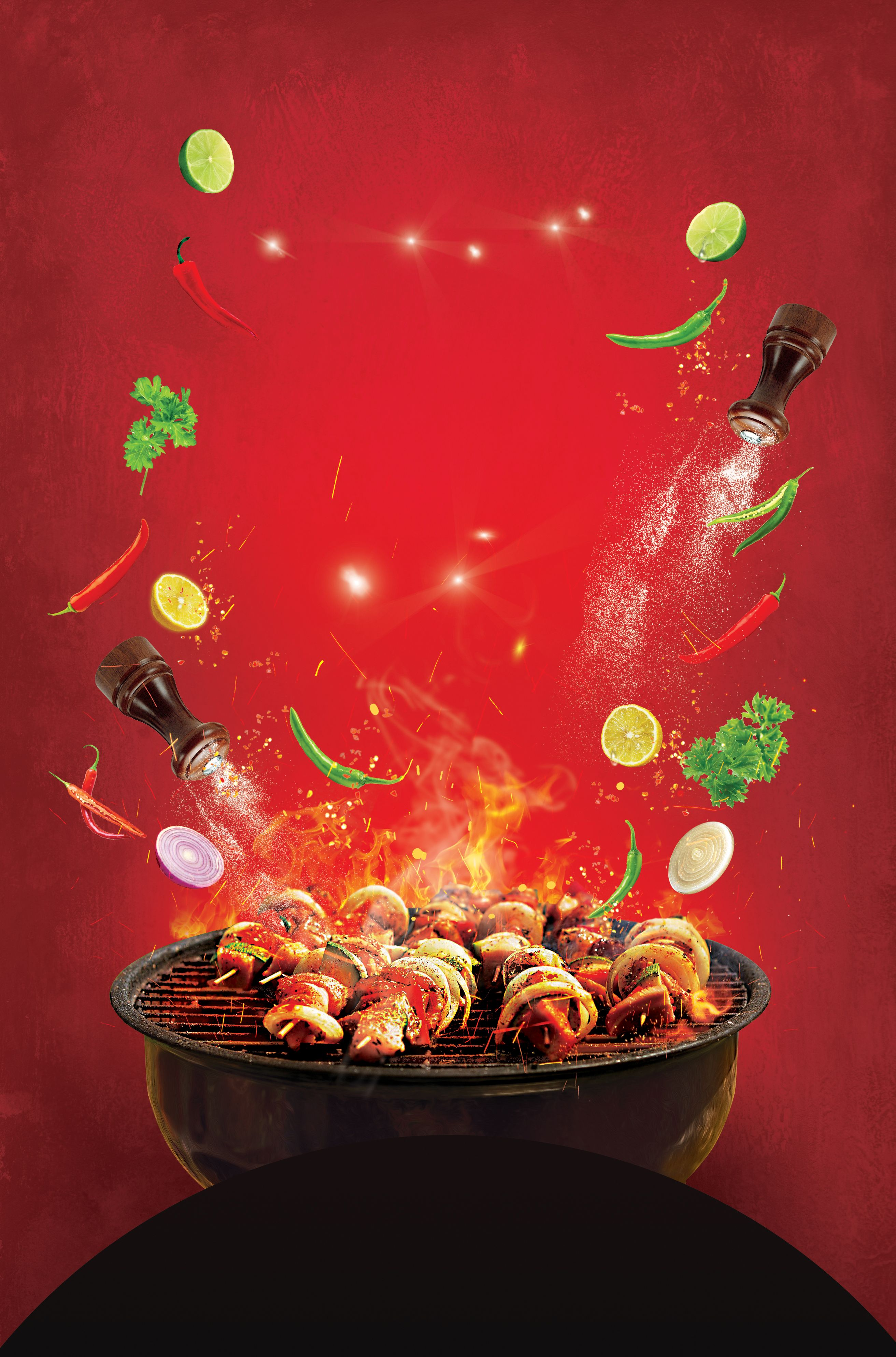 Barbecue Poster Background In 2020 Bbq Party Bbq Lamb Barbecue