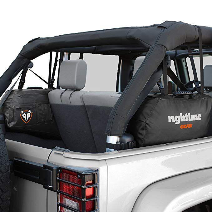 Rightline Gear 100J75 B Side Storage Bags For Jeep Wrangler JK (4 Door