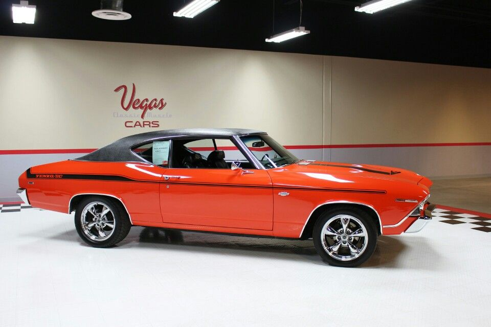 A rare, and perfect true muscle car...1969 Chevelle with Yenko ...