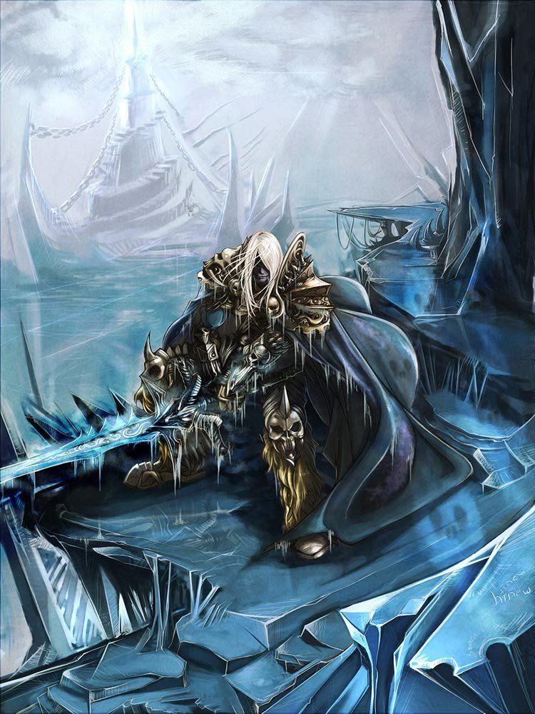 Arthas Menethil The Lich King Characters World Of Warcraft