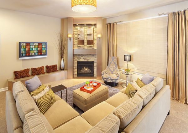 Superb 20 Living Room Layouts With Sectionals