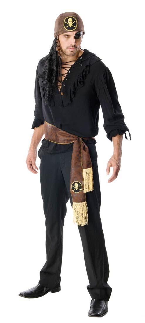 Mens Swashbuckler Pirate Costume Costumes