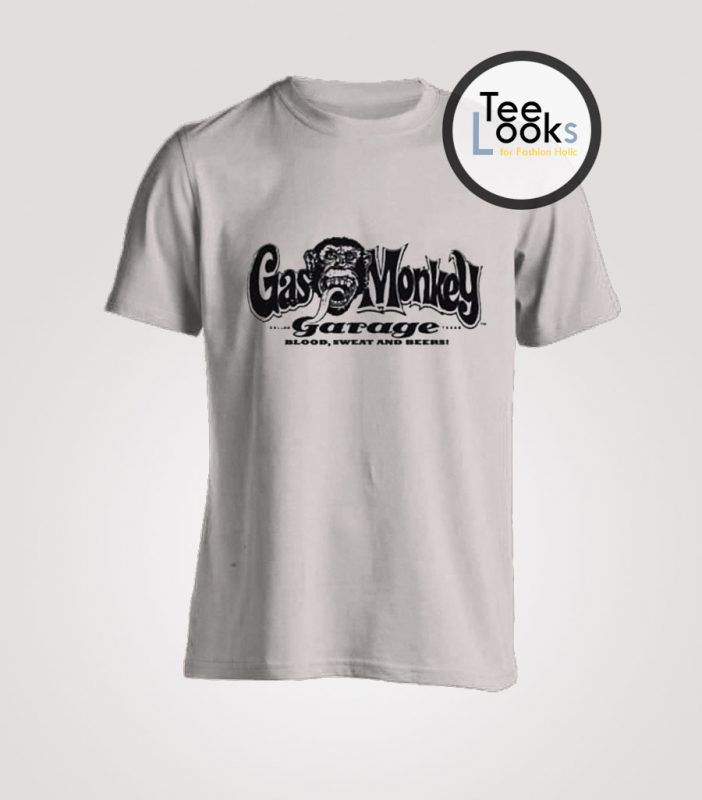 Gas Monkey Garage Blood Sweat and Beers T-Shirt #gasmonkeygarage