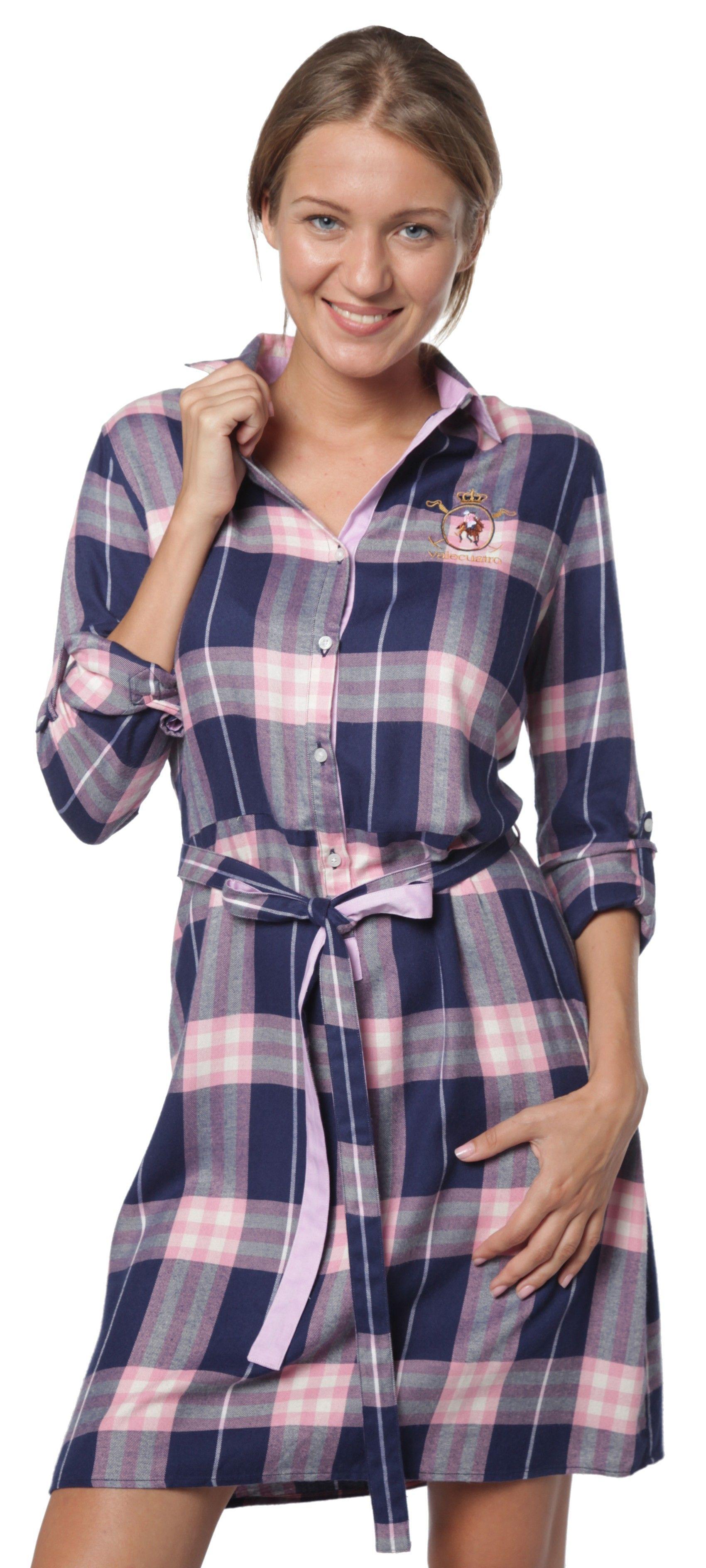 f580f7261a1b Tienda online | Moda mujer y hombre Vestido de cuadros tartán en ...