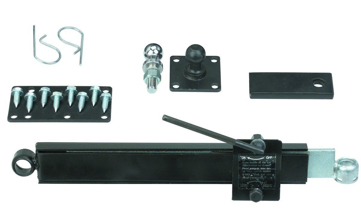 Friction Trailer Sway Tow Control System Bar Unit Towing