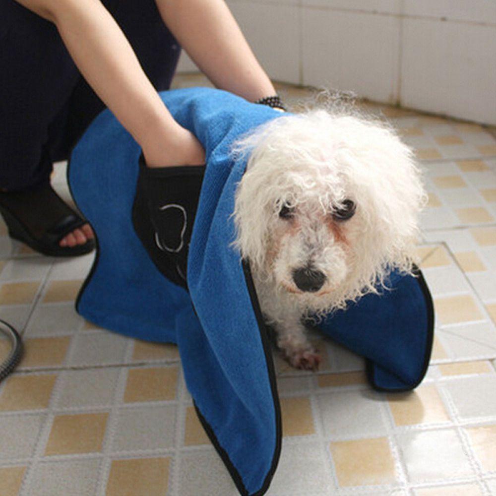 Pet Dog Drying Towel Absorbent Puppy Bathing Towel Microfiber 85