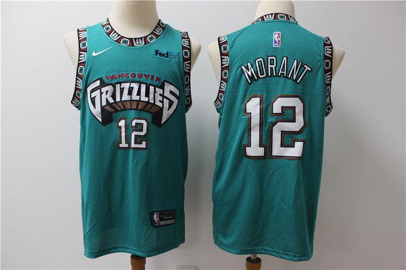 Men's Memphis Grizzlies Ja Morant Swingman Jersey in 2020