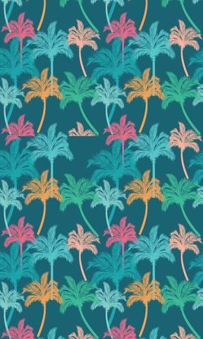 *NEW Night Palms Photo Backdrop