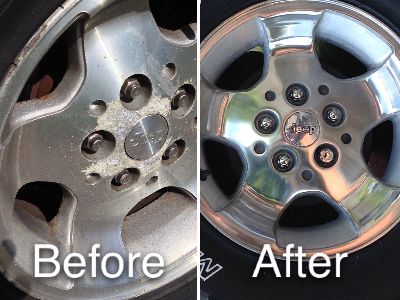 How To Polish Aluminum Wheels >> Diy Restore Of Corroded Aluminum Alloy Wheels My Plant