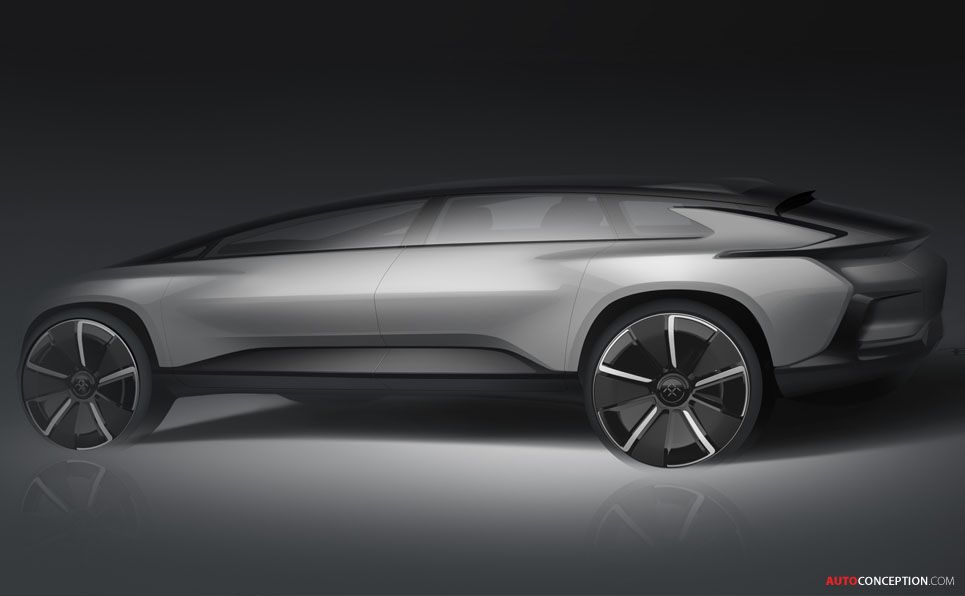 Ff91 Faraday Future This Is Just The Beginning Electric Car Design Car Design Automotive Design