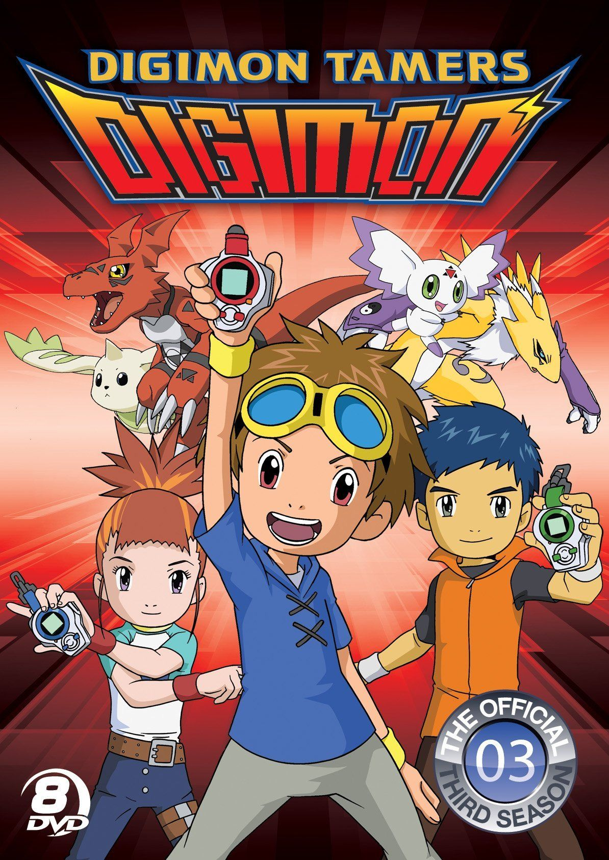 Season 3 Of Digimon Digimon Tamers Which Began A New Narrative