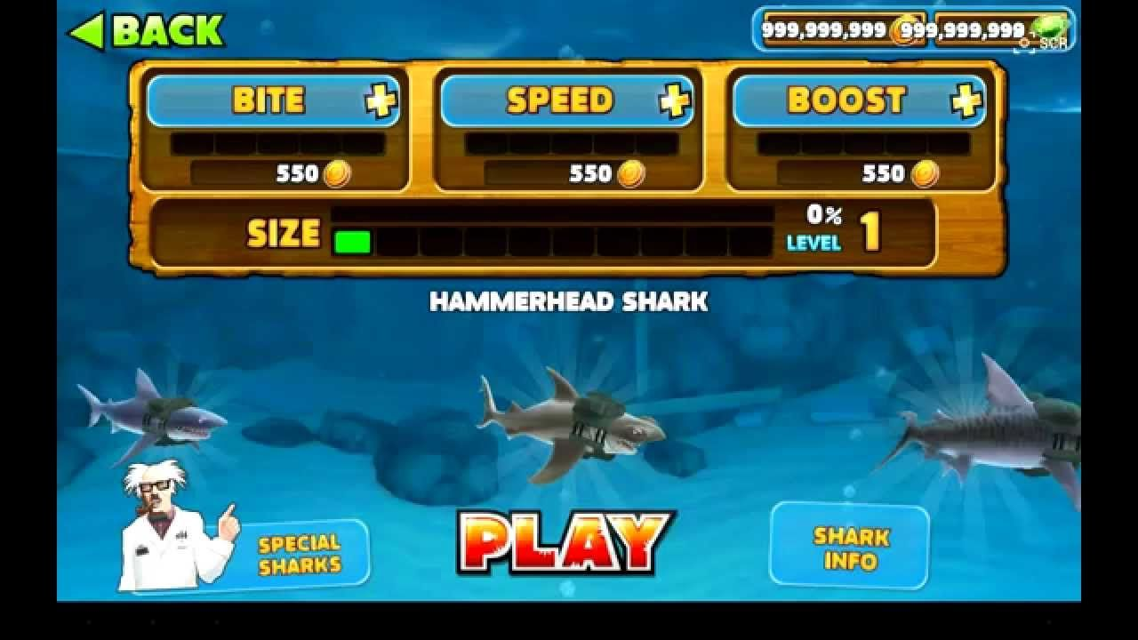 Small Of Hungry Shark Evolution Hack