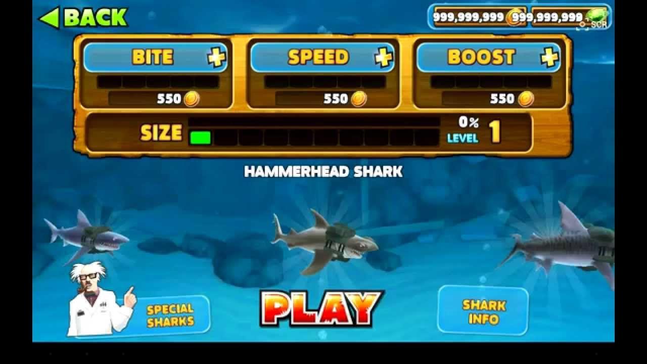 Fullsize Of Hungry Shark Evolution Hack