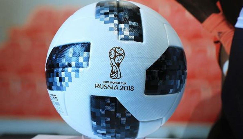 Balón y mascota del mundial Rusia 2018 viajan al espacio  7713f33b01965
