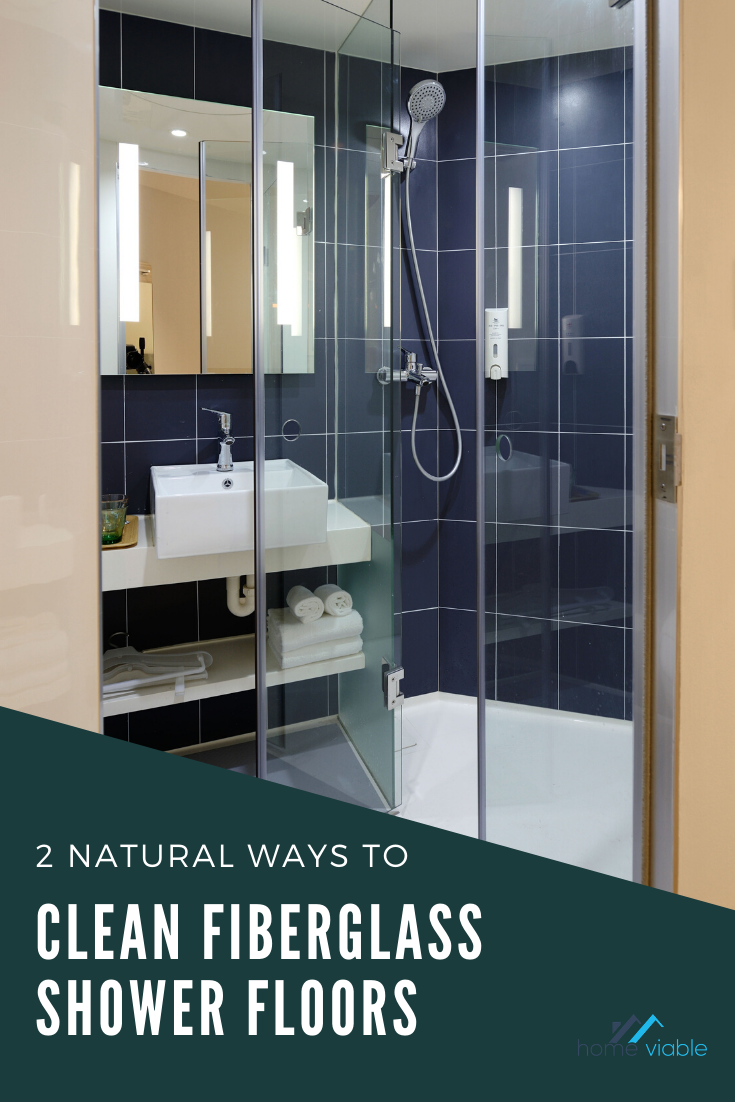 How To Clean Your Fiberglass Shower Floor And Pan In 2020 With