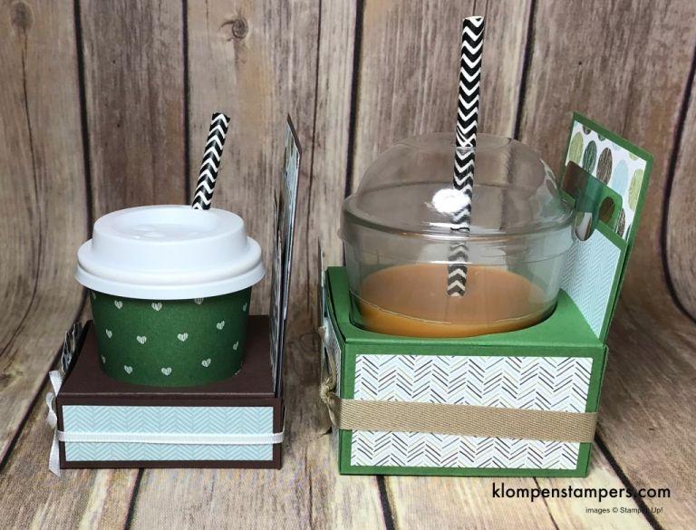 Mini Coffee Cup Gift Card Holder #coffeecup