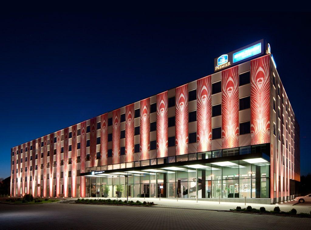Facade Of Best Western Premier Krakow Hotel Krakau Polen Our