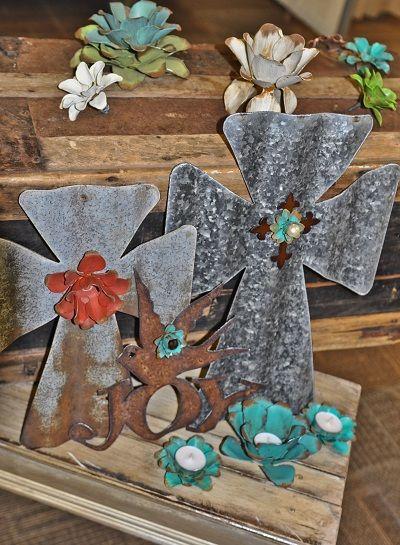 Barn tin on pinterest barn tin barn wood and metal flowers for Old barn tin ideas