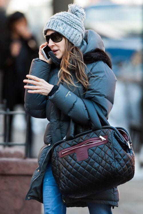 a3c3e14431ba Sarah Jessica Parker Chanel Coco Cocoon Satchel | Chanel | Chanel ...