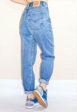 Vintage 80 S Loose Fit High Waist Levi Mom Jeans Fashion
