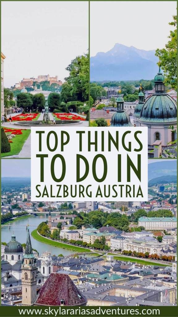 Bucket list trip to Salzburg, Austria #soundofmusic
