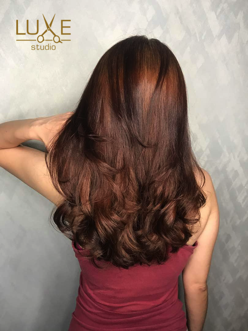Did You Know That Korean Perm Does Not Cause Your Hair To Become Frizzy Instead Brings About Soft Natural Curls Korean Long Hair Permed Hairstyles Digital Perm