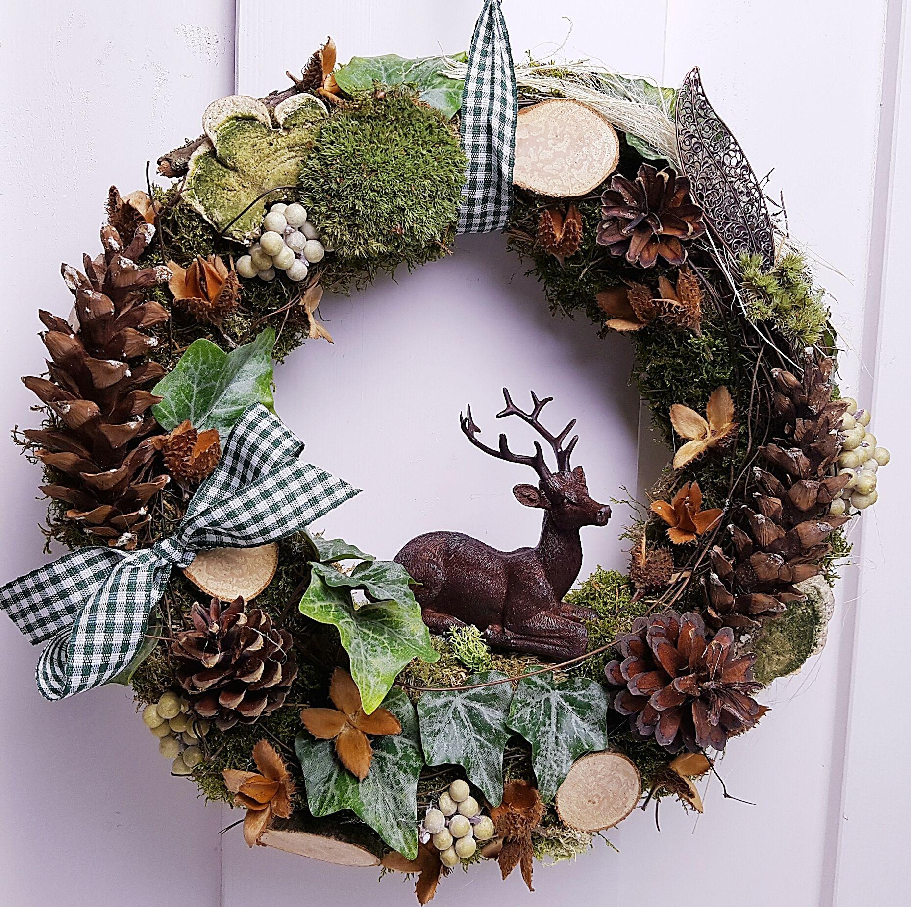 Photo of Autumn wreath – available from Palundu