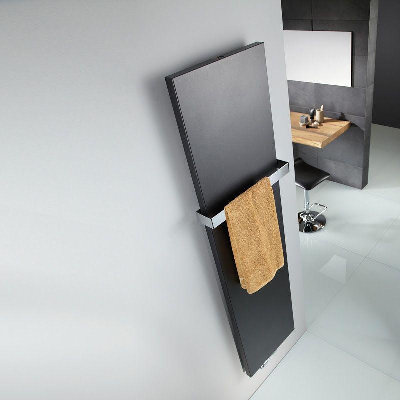 Handtuchheizkörper Mit Indirekter Beleuchtung: Heizkörper_10 Designheizkoerper Atelier Line Graphit