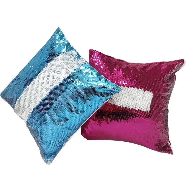 sublimation sequin pillows sequin