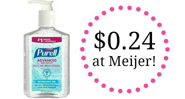 Meijer Purell Hand Sanitizer Only 1 49 Hand Sanitizer