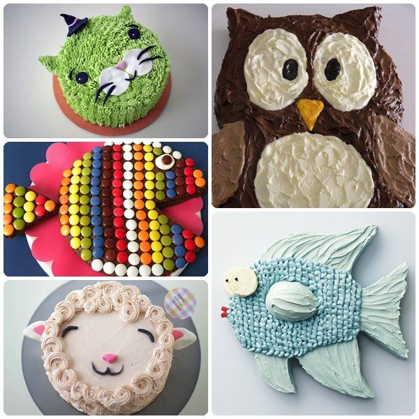 5 Tartas De Cumpleaños Fáciles De Animales Cakes Cookies
