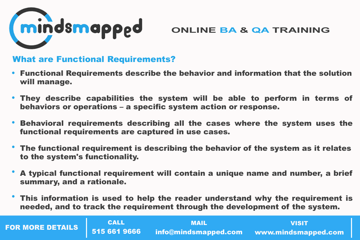 What Are Functional Requirements  Business Analysis