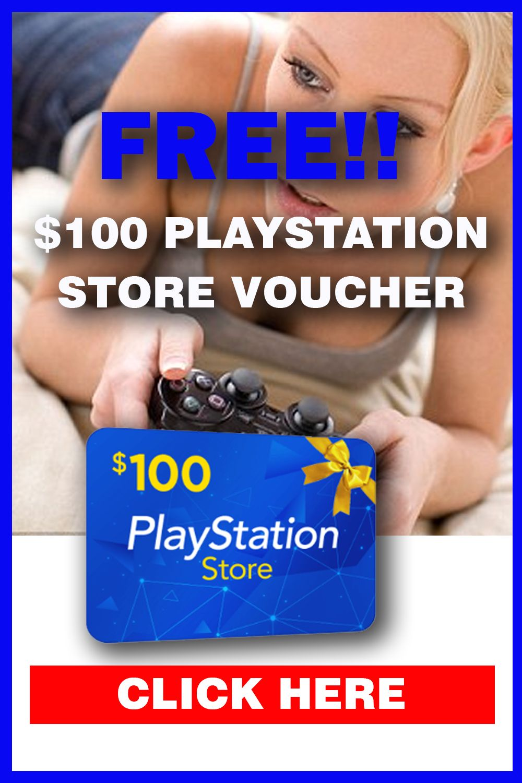 Get a 100 playstation store voucher en 2020 tarjetas de