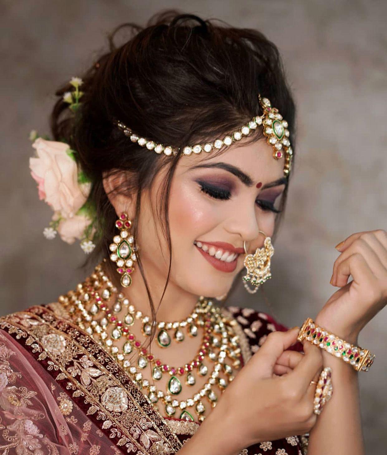 Pinterest Aditimaharaj Bridal Makeup Wedding Indian Bridal