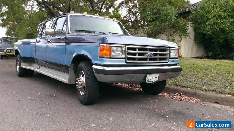 1987 FORD F350 CREW CAB DUALLY 2 OWNER NO RUST EVER #ford #f350